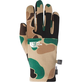 The North Face Etip Recycled Handschuhe Herren hawthorne khaki duck camo print